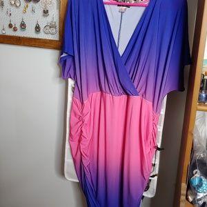 BNWOT Venus brand ombre dress